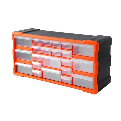 Tactix 22 Drawer Cabinet, Storage and Hardware Parts Organizer | 320632