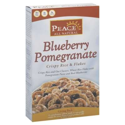 Blueberry Pomegranate Cereals 12 Ounces (Case of 6)