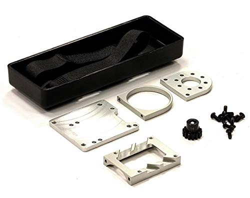 Integy RC Model Hop-ups C24038SILVER Brushless Conversion Kit for HPI Savage w/Pinion Gear ()