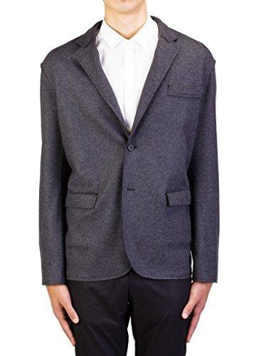 Lanvin Men's Wool Two-Button Sportscoat Jacket Grey ()
