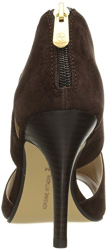 Adrienne Bootie Vittadini Chocolate Dark Ankle Gerlinda Footwear Women's wqqdOrX6