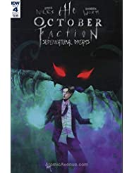 October Faction, The: Supernatural Dreams #4A VF ; IDW comic book
