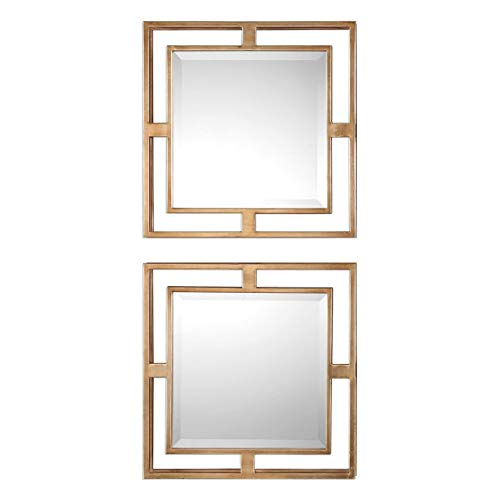 Uttermost Allick Square Wall Mirrors - Set of 2