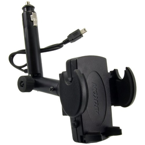 Arkon Lighter Socket Mount with integrated 5V Mini USB Power