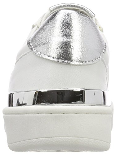 Marco Tozzi Women's 23772 Trainers White (White/Silver 191) H2v7Y
