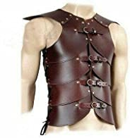 KEW HANDICRAFTS Armor Jacket Chest Medieval Leather Muscle Plate Roman Body LARP Wearable Cuiras-p1
