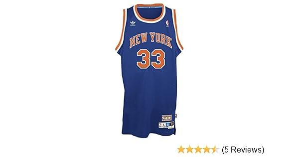 Amazon.com   Patrick Ewing New York Knicks Adidas NBA Throwback Swingman  Jersey - Blue   Sports   Outdoors e54e0510e