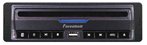 Media Secure - Farenheit DVD-39 in-Dash DVD / MP3 Player with USB and SD Card Slots 32GB