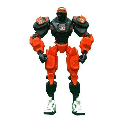 NFL Cincinnati Bengals Fox Sports Cleatus the Robot v2.0 Action Figure