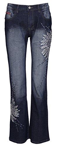 Cut Shop Lets Vaqueros Mujer Boot Pantalones Para nIzzA1qp