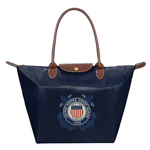 Women's Water Resistance Nylon Foldable Large Tote Bag, USCG Shopping Shoulder Handbags - London Fendi Shop