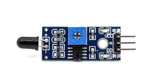 Tiny Deal Arduino Compatible IR Infrared Flame Sensor Module
