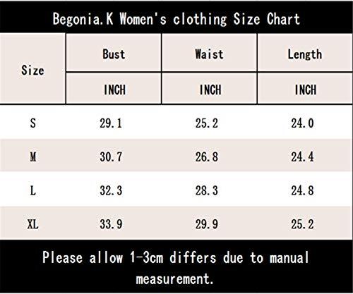 Aj Camiseta espalda sin sin mangas sin mangas Fashion negro para mujer fqqUF47wYx