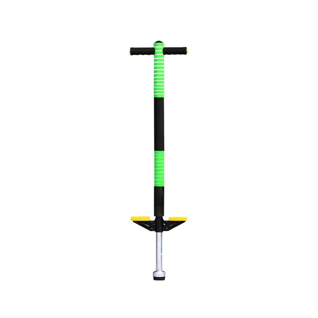 GYF Foam Pogo Stick 103CM Single Shot Pogo Stick Child Foam Pogo Stick Premium Powered Jump Stick Spring Bounce Toy Gift ( Color : Green ) by GYF