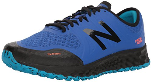 New Balance Men's Kaymin Trail v1 Fresh Foam Trail Running Shoe, Deep Pacific, 7 D US by New Balance (Image #1)