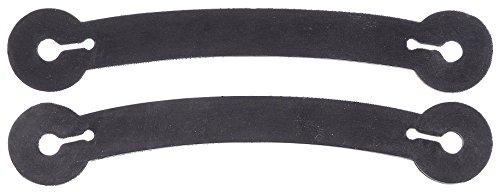 - Tough 1 Curved Strap Spur Tie Downs, black