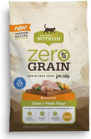 Cat Food: Rachael Ray Nutrish Zero Grain Indoor