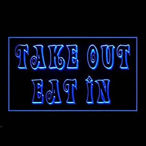 Take Eat Advertising LED Light Sign