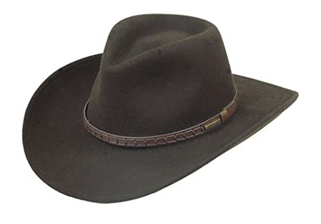 5e07004477295 Stetson Men s Sturgis Pinchfront Crushable Wool Felt Hat - Twstgs-813008  Cordova at Amazon Men s Clothing store