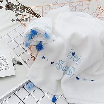 WLLLO algodón Puro Cara de la Cara de la Toalla del hogar Ins Absorbente Engrosamiento Pareja Color Flujo de la Toalla de baño de algodón Adulto Bordado, ...