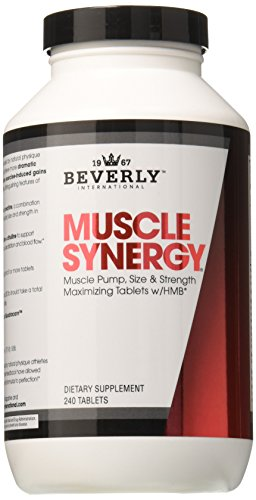 Beverly International Muscle Synergy, Tablets, 240 Count (Beverly International Nutrition Supplements)