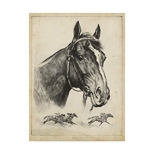 Art R.h Reinhold Palenske Hunting Lithograph-engraving Deer Buck Guarding His Family