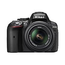Nikon D5300 24.2 MP CMOS Digital SLR Camera with 18-55mm Zoom Lens - Black
