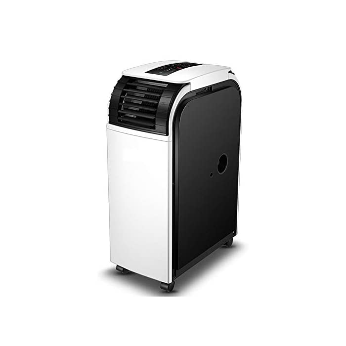 41hlZoyvT5L ★Multifunción: combinación de aire acondicionado portátil, con enfriador de aire, deshumidificación, función de ventilador. ★Función de enfriamiento: capacidad de enfriamiento de 19000BTU, siente el efecto de enfriamiento súper potente, con sistema de filtración de aire, puede mejorar la calidad del aire. ★Función de deshumidificación: le permite extraer hasta 60 litros de exceso de agua y humedad de la atmósfera todos los días.