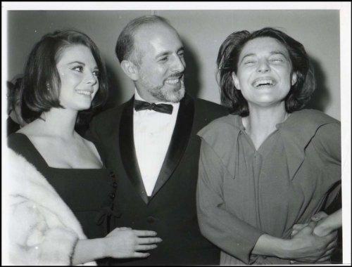 Robbins, Jerome. (1918-1998) & Wood, Natalie. (1938-1981) & Bancroft, Anne. (1931 - 2005): Original 1963 - Natalie Jerome