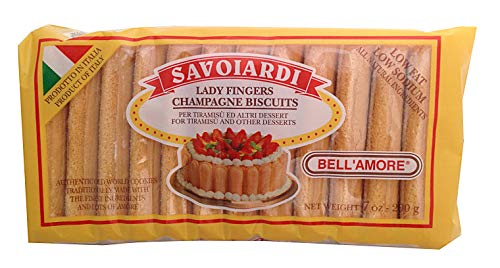 Savoiardi, Lady Fingers Champagne Biscuits, 7 oz