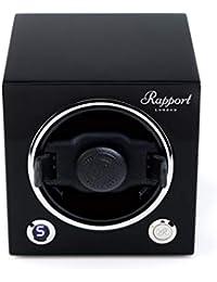 Watch Winder - Rapport London Evo MKII Cube Watch Winder in Black
