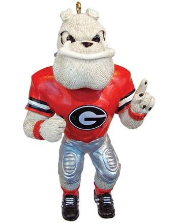 NCAA Georgia Bulldogs Resin Mascot Ornament