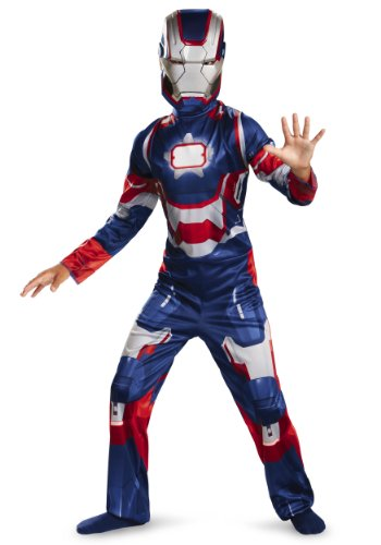 Disguise Marvel Iron Man 3 Patriot Boys Classic Costume