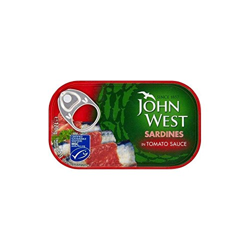John West Sardines in Tomato Sauce (120g) - Pack of 2