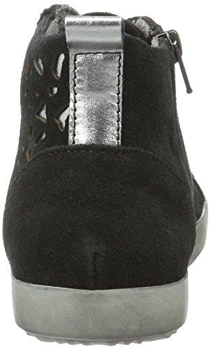 Ginnastica Donna Nero 25220 Da black Tamaris Alte Scarpe 061 pewter OTwRBqntxX