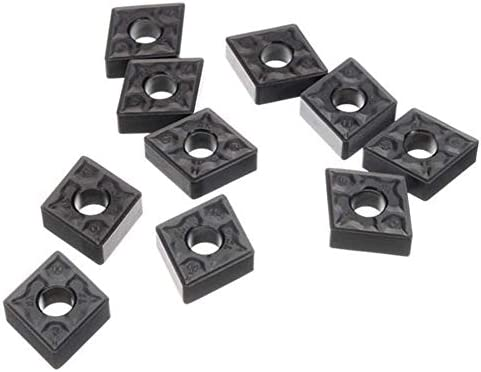 ZYL-YL 10pcs Carbide Inserts CNMG120408-TF IC907 CNMG432-TF for Turning Tool Holder Grooving Inserts