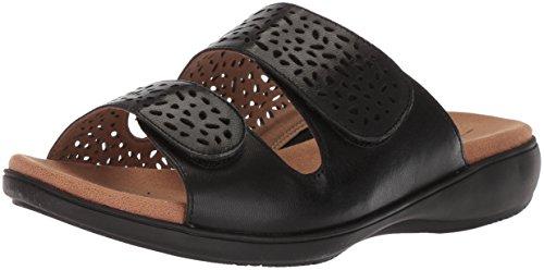 Trotters Women's Tokie Sandal, Black, 12.0 W US