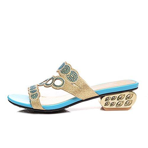 AdeeSu - Zapatillas de estar por casa para mujer gris