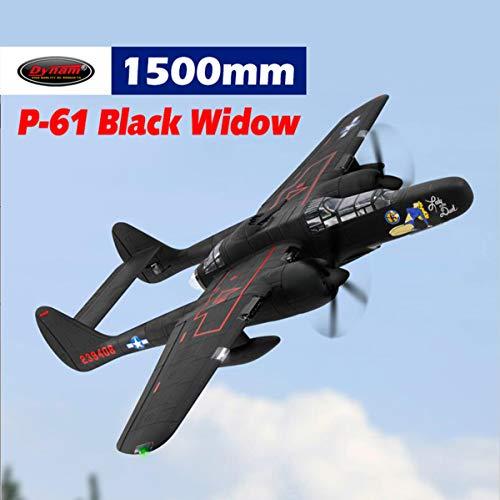 (DYNAM RC Airplane P-61 Black Widow 1500mm Wingspan - SRTF)