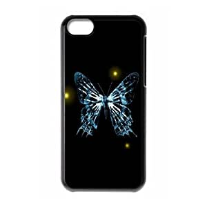 Fringe Butterfly iPhone 5c Cell Phone Case Black DIY Gift xxy002_5047288