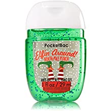 Bath & Body Works PocketBac Hand Gel Sanitizer Elfin Around North Pole Punch