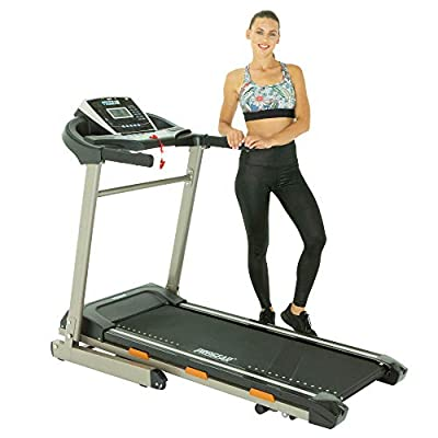 ProGear BT5000 Bluetooth Smart Technology Foldable Electric Treadmill with Goal Setting Computer & Free App