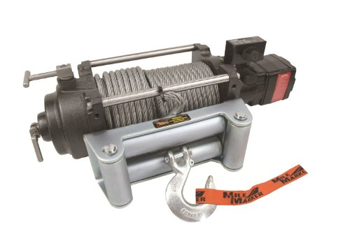 Mile Marker 75-52000C HI Series 12,000 lb Capacity Hydraulic Winch, 1 Pack (Mile Marker 8000 Winch)