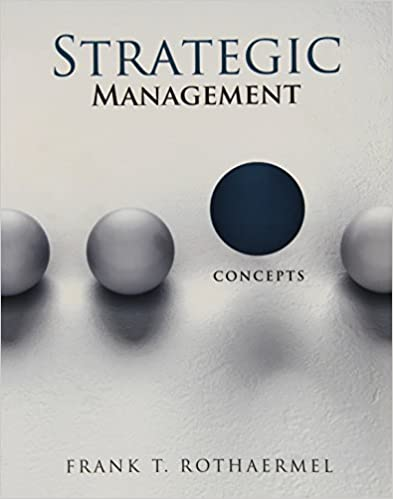 amazon com strategic management concepts 9780077324452 frank