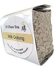 Zi Chun Teas - Premium Milk Oolong Tea, Loose Leaf Tea from Taiwan, Best Oolong Tea for Weight Loss Programs, Rich in Antioxidants and Polyphenols - Vacuum Sealed - 100g