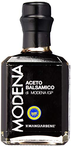 (Balsamic Vinegar di Modena IGP Certified Product from Italy, by Serendipity Life. Aceto Balsamico IGP Barrel Aged Premium Thick and Glossy for a perfect dressing (250 ml) (1 Pack))