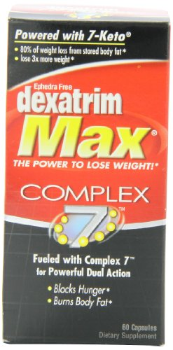 Capsules Bottle Formula 60 Count (Dexatrim Max Comple-7, Capsules, 60-Count Bottle)
