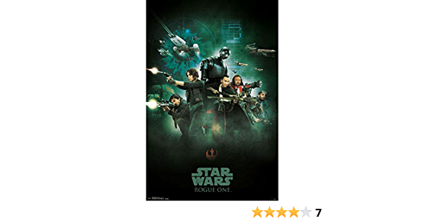 Brand New SEALED Star Wars Rogue One Siege 18in x 24in Poster Sealed RPR14638