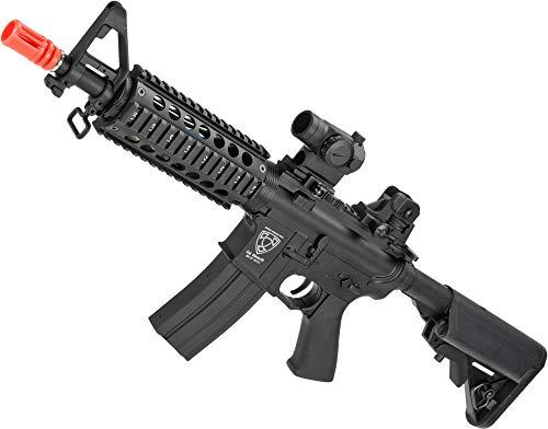 Evike APS Full Metal M4 CQB Electric Blowback Airsoft AEG Rifle