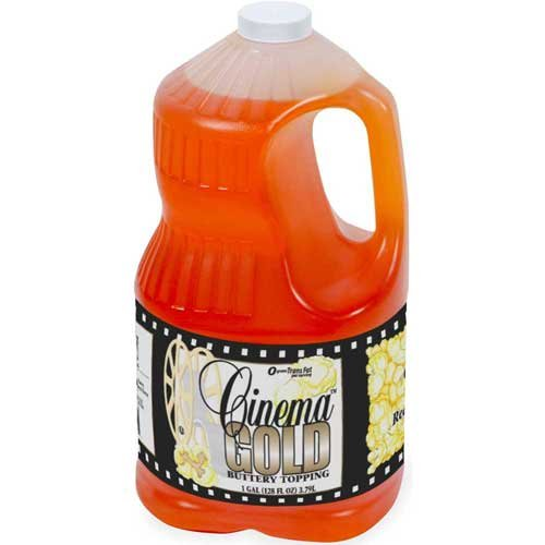Lou Ana Cinema Gold Buttery Topping, 1 Gallon -- 4 per case. by Ventura Foods